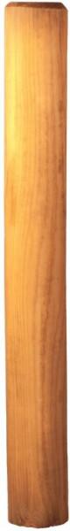 Palisade grün 12 x 150 cm gefräst, gefast