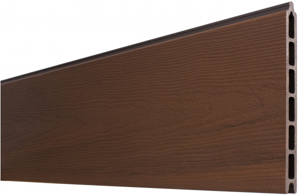 ÖLAND-Serie IPÉ (braun) Zaunlamelle 20 x 210 x 1793 mm coextrudiert Holzmaserung