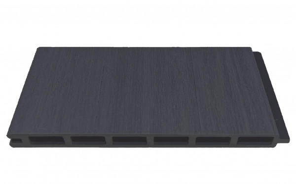 ELZE-Serie WPC-Steckzaunsystem Zaunlamelle BREIT 20 x 300 x 1790 mm, ANTHRAZIT co-extrudiert