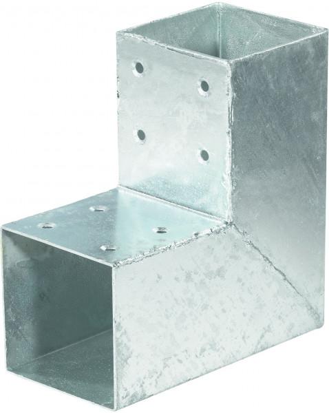 QUATRO-Steckverbinder Ecke einfach, für 9 x 9 cm 20 x 20 x 9 cm