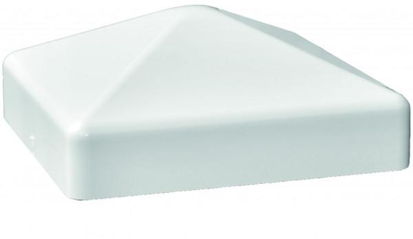 TRENDLINE-KS-Pfostenkappe weiß, Pyramide