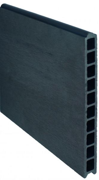 TJÖRN -Serie WPC-Steckzaunsystem Zaunlamelle 20 x 245 x 1795 mm, ANTHRAZIT #A10
