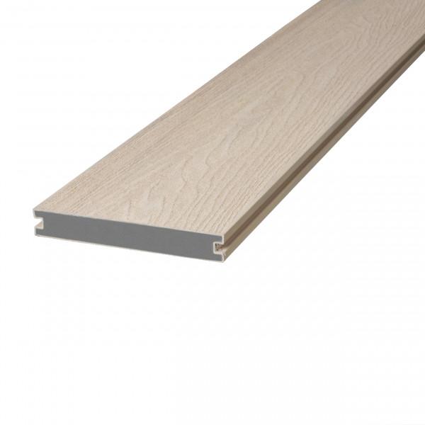 Dreamdeck WPC Soft Terrassendiele Relief-Holzmaserung/fein geriffelt sand 400 cm