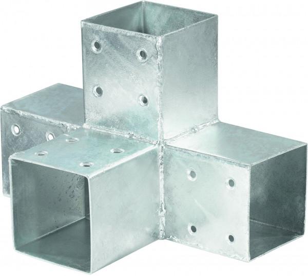 QUATRO-Steckverbinder Mitte zweifach, für 9 x 9 cm 30,5 x 20 x 20 cm