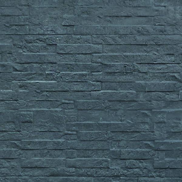 REBUS-Serie Motivplatte SCHIEFER 4,8 x 36 x 184 cm, anthrazit Beton doppelseitig geprägt # 1.56936