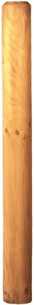 Palisade grün 10 x 200 cm gefräst, gefast