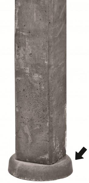 REBUS/TANTUM-Serie Einsinkschutz für Pfosten 5 x Ø 25 cm # 1.59607