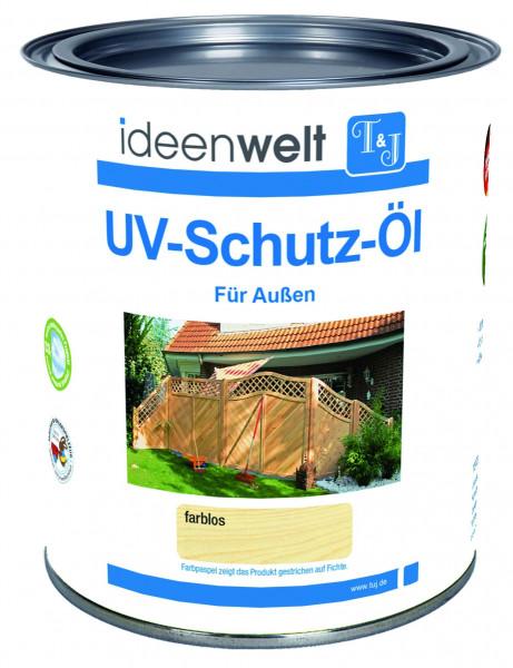 UV-Schutz-Öl, farblos 0,75 Ltr. für Außen f. ca. 16 m² Fläche/Anstrich