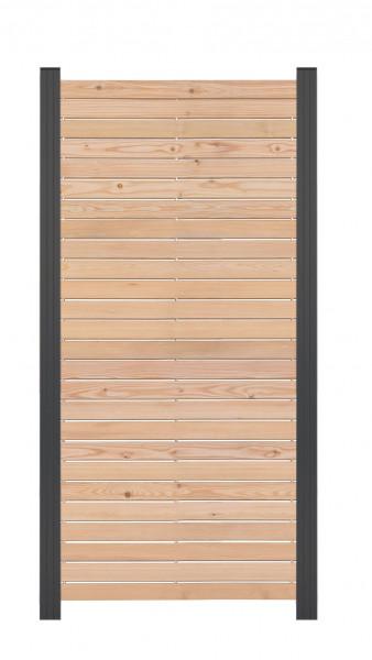 TAIGA-Serie Steckzaunelement Sibirische Lärche 81,5 x 180 cm auch für Torfüllung