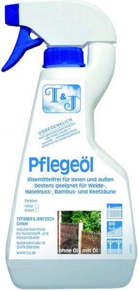 T & J Pflegeöl, natur 500 ml in der Pumpflasche