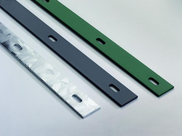 Flacheisenleiste 4 x 40 mm, per lfdm RAL 6005 grün