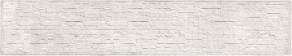 REBUS-Serie Motivplatte SCHIEFER 4,8 x 36 x 184 cm, weißgrau Beton doppelseitig geprägt # 1.55936