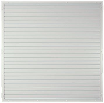 LIGHTLINE KS-Zaunelement 180 x 180 cm Füllung weiß / Rahmen weiß