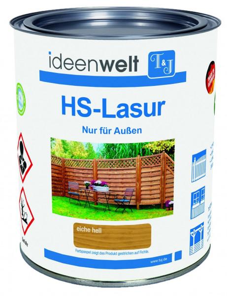 HS-LASUR Kiefer 0,75 Ltr. f. ca. 7,5 m² Fläche/Anstrich