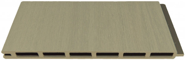 ELSKOP-Serie WPC-Steckzaunsystem Zaunlamelle 20 x 150 x 1790 mm, SCHILF co-extrudiert