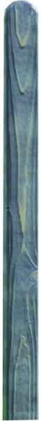 FALSTER-Serie Pfosten 9 x 9 x 190 cm, grau imprägniert gehobelt, Kopf gerundet #30152