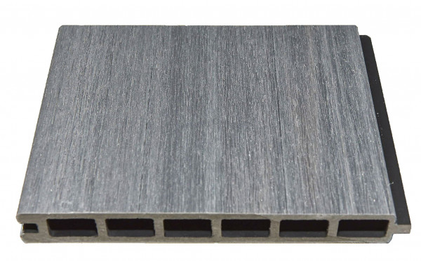 ELSKOP-Serie WPC-Steckzaunsystem Zaunlamelle 20 x 150 x 1790 mm, GRAU co-extrudiert