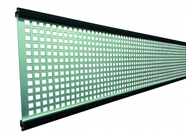 GOTLAND-Serie WPC-Steckzaunsystem Gitterfüllung 1,5 x 206 x 1793 mm ANTHRAZIT #NO85