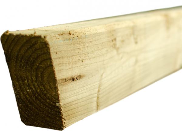 Sattelbalken für Pergola grün 9 x 4,5 x 225 cm