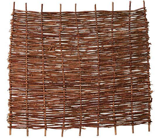 PABLO Haselnusszaun, stabil 180 x 150 cm