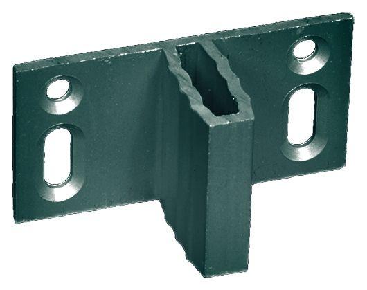 Zaunhalter für WPC-Zäune für verdeckte Befestigung Set á 8 Stück, ANTHRAZIT #08090015
