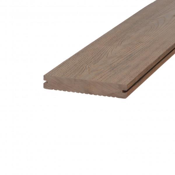 *Dreamdeck WPC BiColor Terrassendiele Relief-Holzmaserung/fein geriffelt mandel 300 cm
