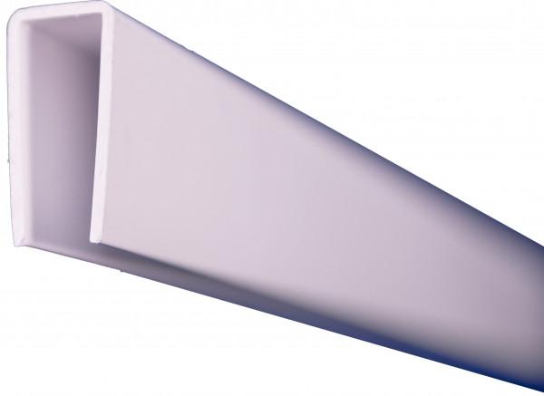 LIGHTLINE Steckzaunsystem U-Abschlußprofil/Rahmenprofil 25 x 50 mm, Länge 200 cm