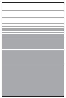 VETRO Glasscheibe B 1200 x H 1800 mm Streifen-Dekor 81, SATINATO #68106