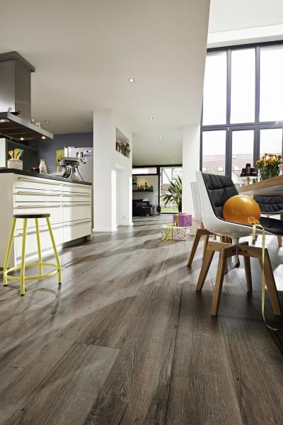 MeisterDesign. Comfort DL 600 S Altholzeiche lehmgrau 6986 Dekor Authentic Wood Struktur