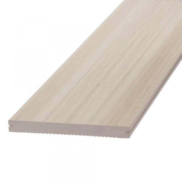 Dreamdeck WPC Platinum Terrassendiele Relief-Holzmaserung/fein geriffelt creme