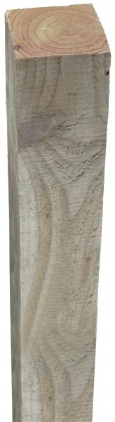 Pfosten kdi-grün sägerau, 9 x 9 x 210 cm für FÜNEN-Serie