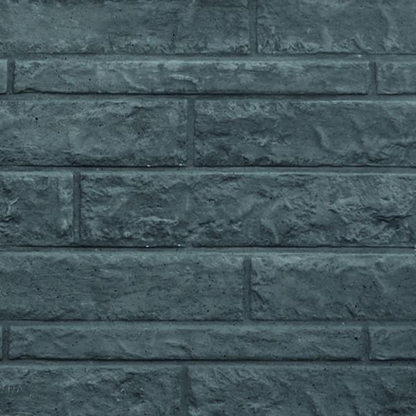 REBUS-Serie Motivplatte FELS 4,8 x 36 x 184 cm, anthrazit Beton doppelseitig geprägt # 1.56536