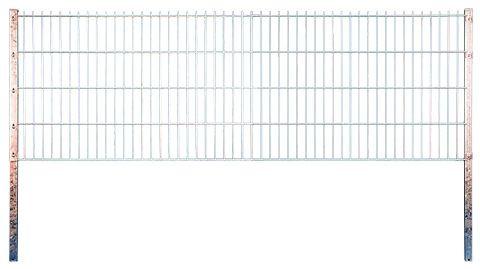 JUMBO Doppelstabmatte feuerverz. 2500 x 1430 mm, MW 200/50, Stäbe 8/6/8 mm