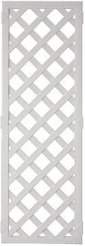 LIGHTLINE KS-Rankgitter 60 x 180 cm Füllung weiß / Rahmen weiß