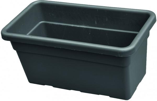 NATASCHA Pflanzkasteneinsatz B 60 x H 28 x T 32 cm, ca. 48 Liter KS-Anthrazit für Hochbeete (VPE 22