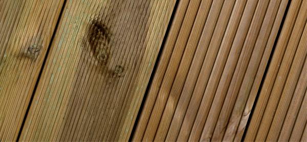 Terrassendiele Kiefer kesseldruckimprägniert 28 x 145 mm, 400 cm