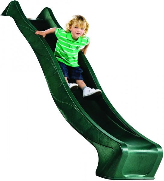 XWellenrutsche PE, grün 240 x 46 cm für Podesthöhe 120 cm