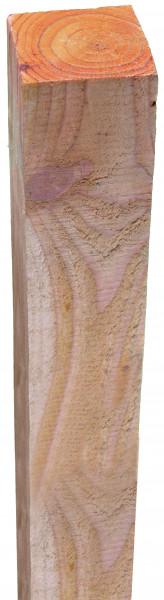 Pfosten Lärche sägerau, 9 x 9 x 210 cm für Jütlandserie