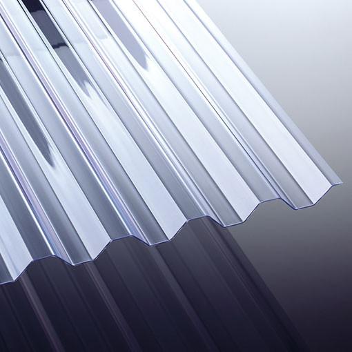 Novoklar 1,2 mm Spundwandplatte glasklar 600 x 109,2 cm