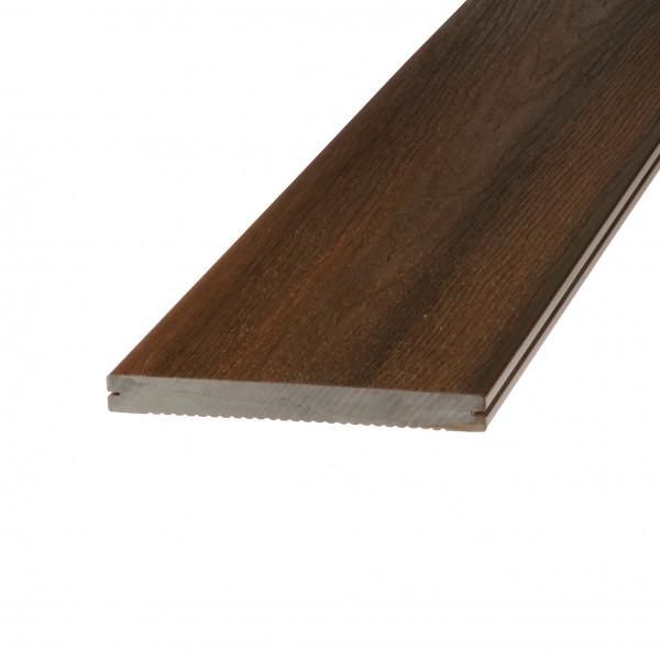Dreamdeck WPC Platinum Terrassendiele Relief-Holzmaserung/fein geriffelt braun 300 cm
