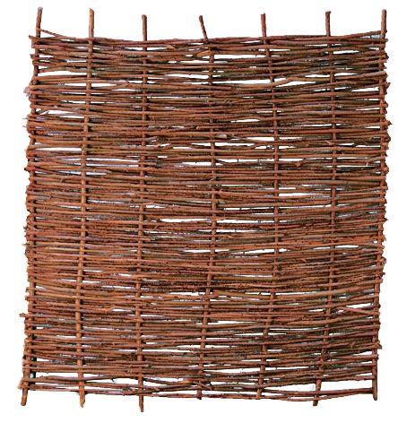 PABLO Haselnusszaun, stabil 180 x 180 cm