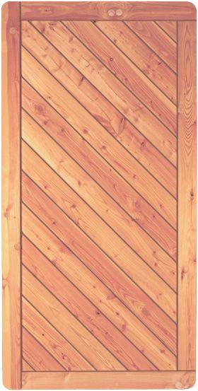 SKAGEN-Serie Lärche, 90 x 180 cm Rahmen 44/88 mm, Profilbretter 18/125 mm