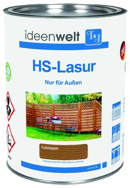 HS-LASUR Silbergrau 2,5 Ltr. f. ca. 25 m² Fläche/Anstrich