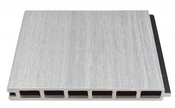 ELSKOP-Serie WPC-Steckzaunsystem Zaunlamelle 20 x 150 x 1790 mm, BEIGE co-extrudiert