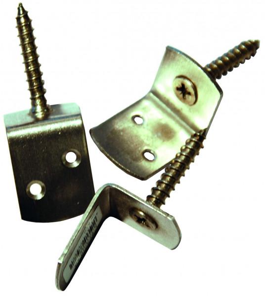 Winkelbeschlag V2A ohne Schrauben