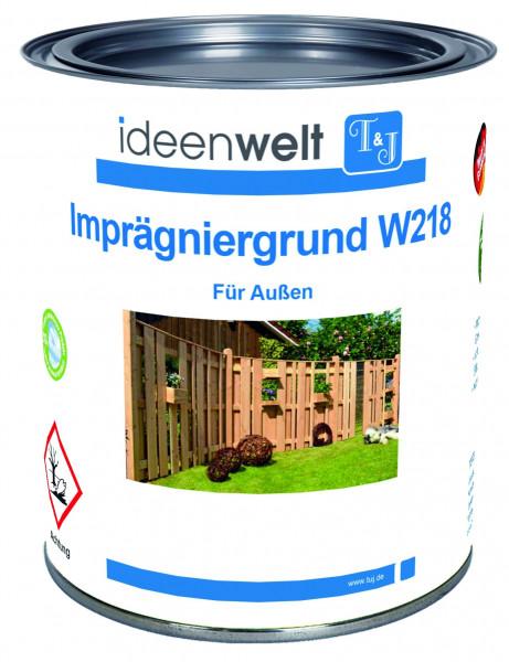 Imprägniergrund W218, farblos 0,75 Ltr. für Außen f. ca. 7,5 m² Fläche/Anstrich