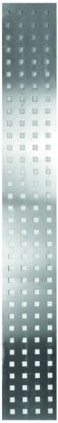 AALBORG-Serie, Aluminiumblech 25 x 179 cm, 1 mm stark, Lochmaß 20/20 mm