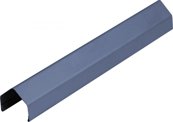 PROTEC Rahmenprofil aus Metall 180 cm, Pyramide, ANTHRAZIT für 45 mm Rahmen, verzinkt & Polyesterbes