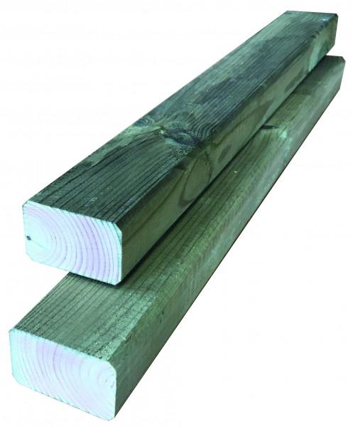 Konstruktionsholz grün 24 x 48 x 3000 mm allseitig glatt