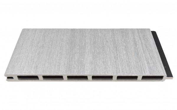 ELZE-Serie WPC-Steckzaunsystem Zaunlamelle BREIT 20 x 300 x 1790 mm, BEIGE co-extrudiert